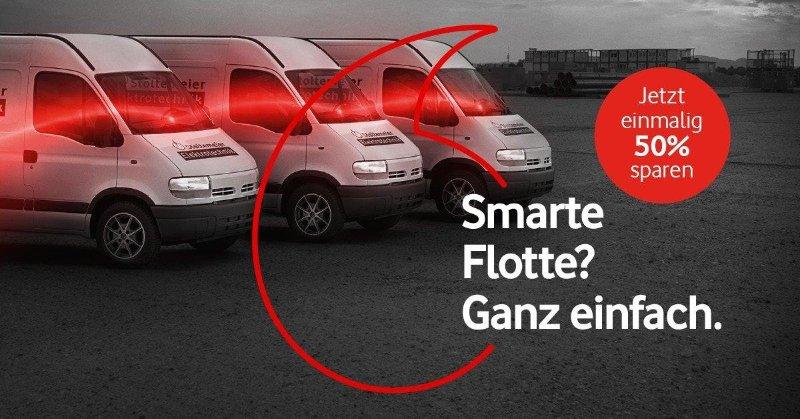 Flottenübwachung mit Munichkom und Vodafone europaweit
